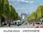 paris  france   may 16  2019  ... | Shutterstock . vector #1405544858
