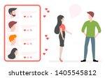 vector illustration with online ... | Shutterstock .eps vector #1405545812