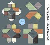 design templates for...   Shutterstock .eps vector #140556928