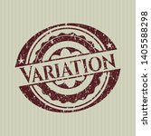 red variation distressed rubber ... | Shutterstock .eps vector #1405588298