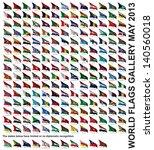 world flags gallery   Shutterstock . vector #140560018