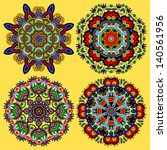 circle ornament  ornamental...   Shutterstock .eps vector #140561956