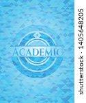 academic light blue emblem with ...   Shutterstock .eps vector #1405648205