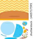 educational children game ... | Shutterstock .eps vector #1405717595