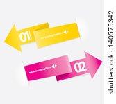 color modern design template  ...   Shutterstock .eps vector #140575342