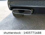 car exhaust pipe smoke fumes | Shutterstock . vector #1405771688