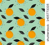 seamless background with orange....   Shutterstock .eps vector #1405773335