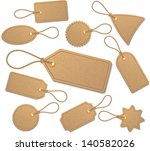 set of tags. | Shutterstock .eps vector #140582026