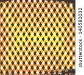 plaid cloth sun color vintage... | Shutterstock .eps vector #140582032