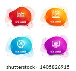 liquid badges. set of user info ... | Shutterstock .eps vector #1405826915