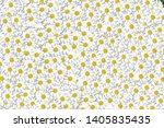 lovely blossom daisy flowers... | Shutterstock . vector #1405835435