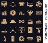big bet icons set. simple set... | Shutterstock .eps vector #1405839485