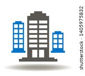 high rise hotel buildings icon... | Shutterstock .eps vector #1405975832