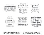 vector quotes about sport... | Shutterstock .eps vector #1406013938