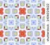 tibetan fabric. abstract... | Shutterstock . vector #1406014622
