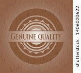 genuine quality retro wooden... | Shutterstock .eps vector #1406020622