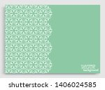 abstract line background with... | Shutterstock .eps vector #1406024585