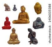 Set Of Buddha Figurines...