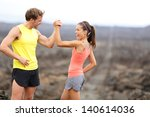 Fitness Sport Running Couple...