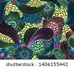 vector abstract illustration... | Shutterstock .eps vector #1406155442