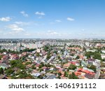 aerial panoramic view of... | Shutterstock . vector #1406191112