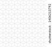 vector high quality seamless... | Shutterstock .eps vector #1406213792