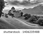 gutenberg castle in vaduz ...   Shutterstock . vector #1406235488