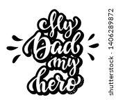 creative calligraphy quote 'my...   Shutterstock .eps vector #1406289872