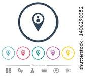 member gps map location flat... | Shutterstock .eps vector #1406290352