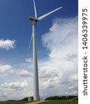a wind turbine in southern... | Shutterstock . vector #1406339975