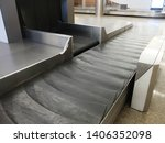 treadmill of the airport... | Shutterstock . vector #1406352098