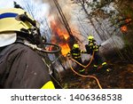 Firefighters Battling Structur...
