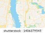 empty vector map of camden  new ... | Shutterstock .eps vector #1406379545