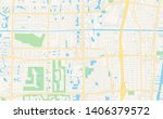 empty vector map of boynton... | Shutterstock .eps vector #1406379572