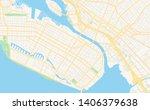 empty vector map of alameda ... | Shutterstock .eps vector #1406379638
