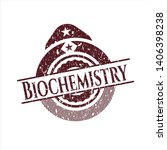 red biochemistry distressed... | Shutterstock .eps vector #1406398238