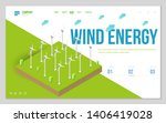 minimal modern concept of... | Shutterstock .eps vector #1406419028