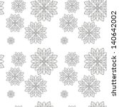 retro background  lace seamless ... | Shutterstock . vector #140642002