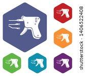 code reader icons vector... | Shutterstock .eps vector #1406522408