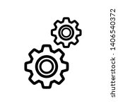 setting gear vector icon design ...