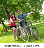 moscow   may 19  cyclists pose... | Shutterstock . vector #140654596