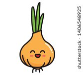 cute  cartoon  kawaii food ... | Shutterstock .eps vector #1406548925