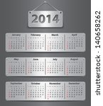 Calendar For 2014 Year In...