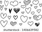sketch heart  great design for... | Shutterstock .eps vector #1406639582