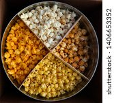 Popcorn In A Tin  Four Flavors