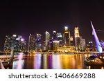 19 march  2019   singapore ... | Shutterstock . vector #1406669288