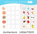 matching children educational... | Shutterstock .eps vector #1406673035