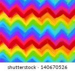 oil painting vector rainbow...