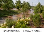 Flood Water Covering Walking...