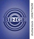 binge denim background. vector... | Shutterstock .eps vector #1406776658